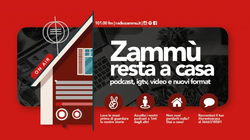 banner radio zammù resta a casa